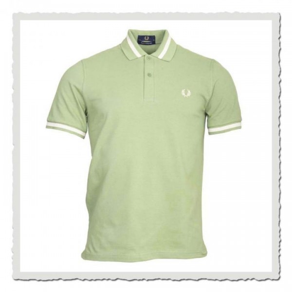 Polo Shirt Single Tipped Pistachio
