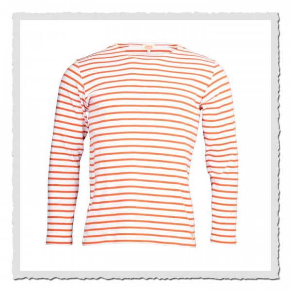 Matrosen-Shirt Kollektion Heritage weiss orange