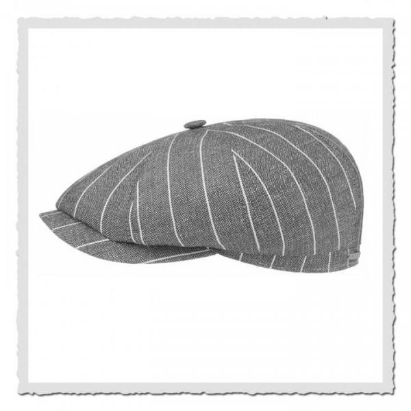 Hatteras Linen/Viscose Fischgrat grau