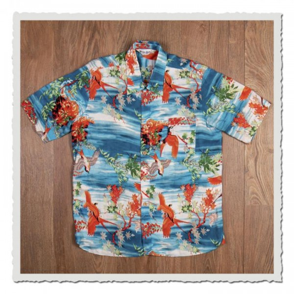 1937 Roamer Shirt Short Sleeve Miyamato blue