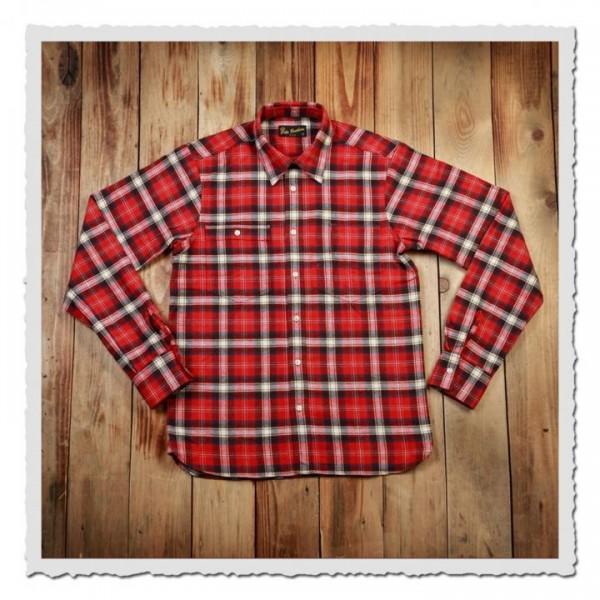1937 Roamer Shirt red flannel