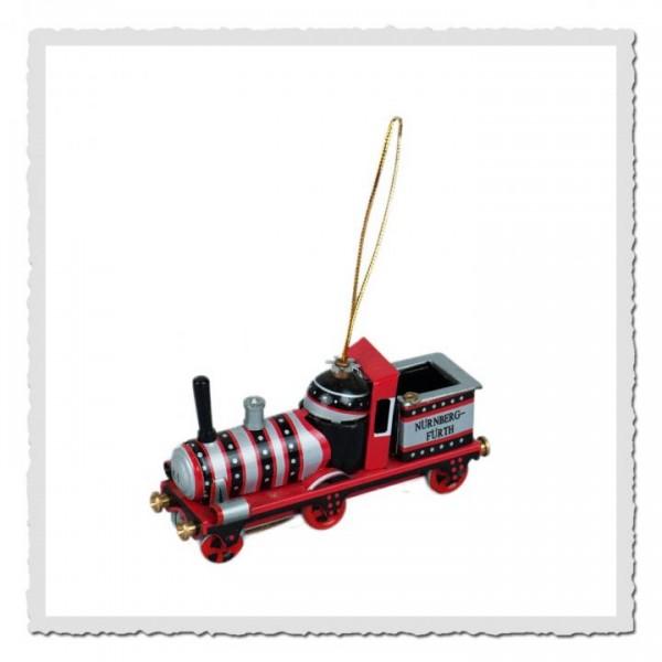 Blech-Anhänger Eisenbahn