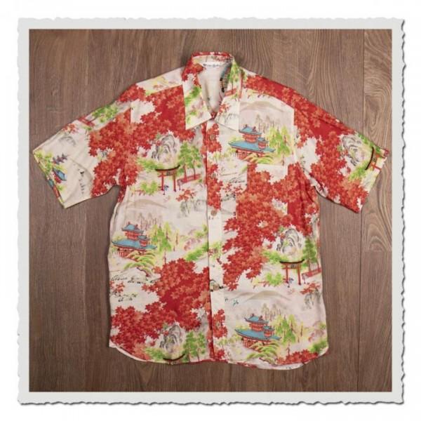 1937 Roamer Shirt Short Sleeve Miyamato orange