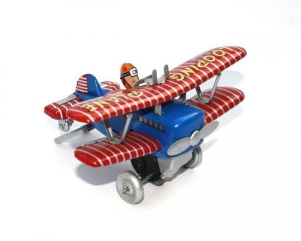 Blech-Flugzeug 'Looping Plane'