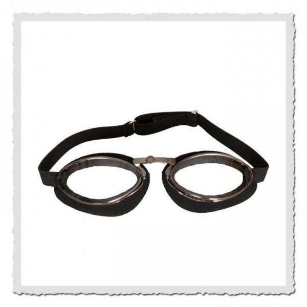 Aviator Goggle 4600 Moosgummi schwarz/gun