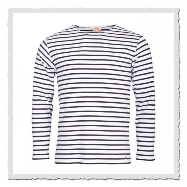 Matrosen-Shirt Kollektion Heritage weiss/blau