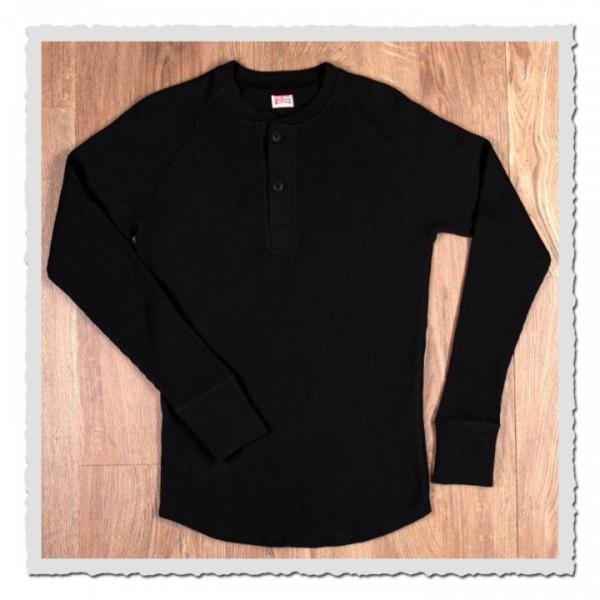 1936 Waffle Shirt black