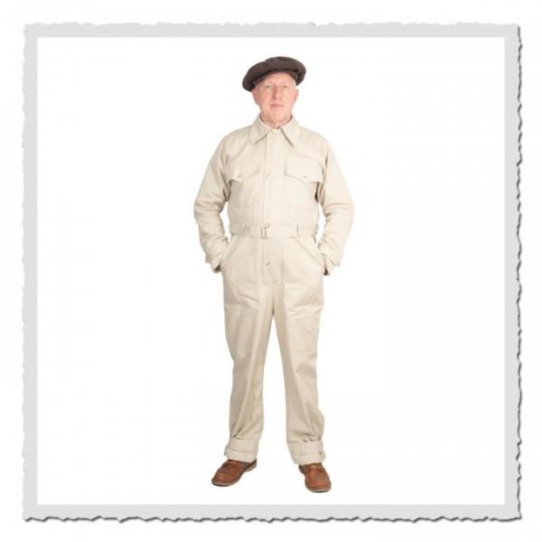 Fahrer- & Mechaniker-Overall Max beach-beige