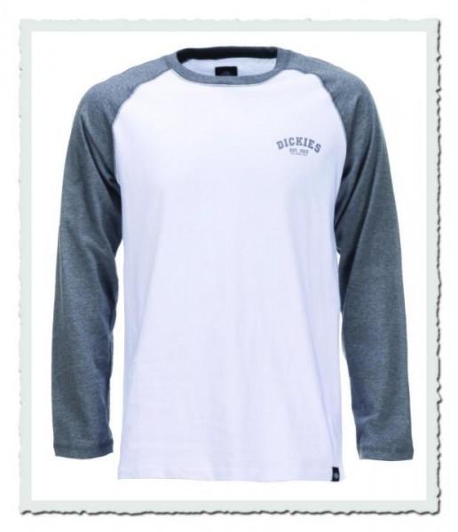 Baseball T-Shirt Dark Grey Melange