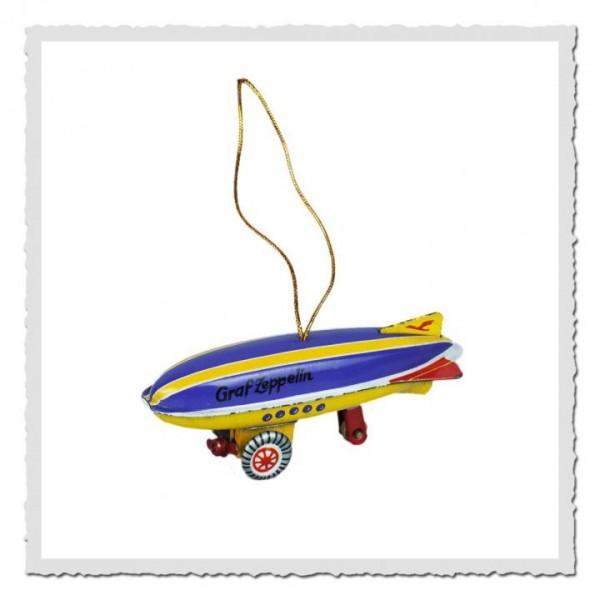 Blech-Anhänger Zeppelin