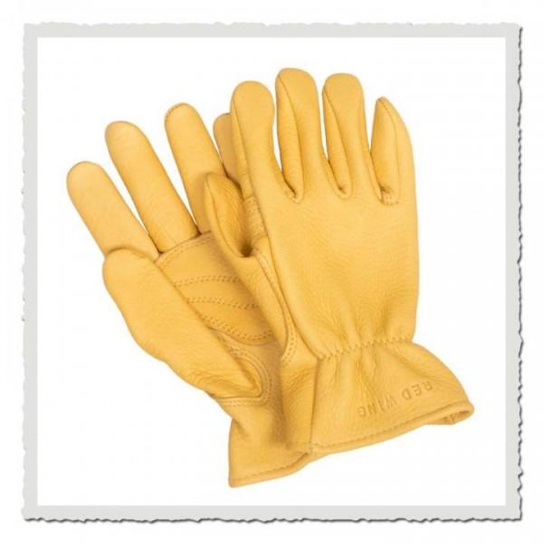 Buckskin Leather Glove 95233 gold