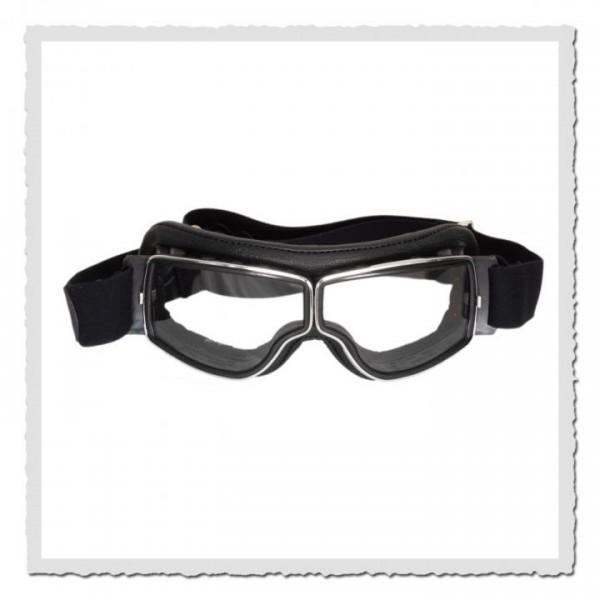 Aviator Goggle T2 schwarz/chrom