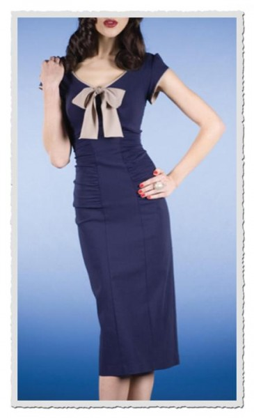 Damenkleid Newport Dark-navy