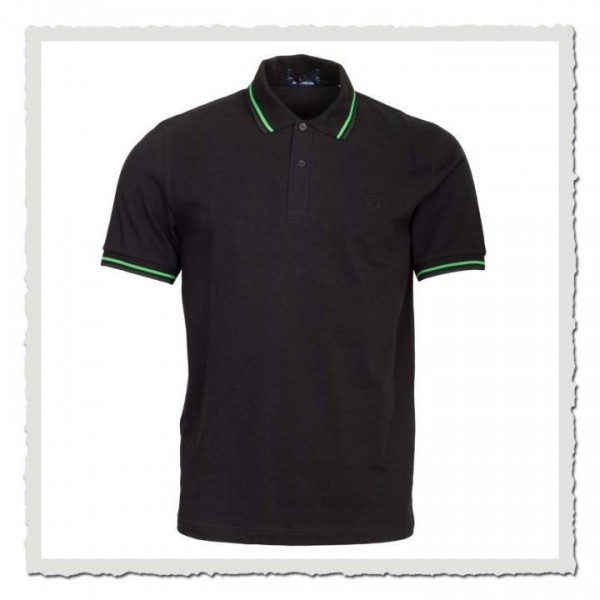 Polo Shirt Twin Tipped black