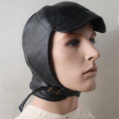Cabriohaube Nappa-Leder, schwarz