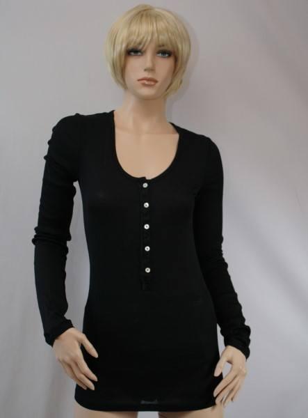 Elvira 1/1 Arm-Shirt schwarz