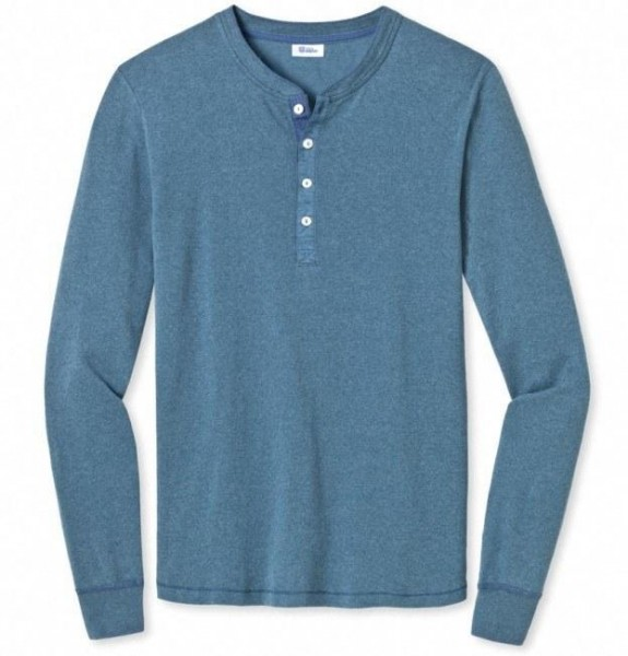 Karl-Heinz 1/1-Arm-Shirt blaumelange