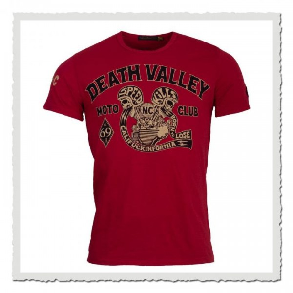 Death Valley MX cherry red