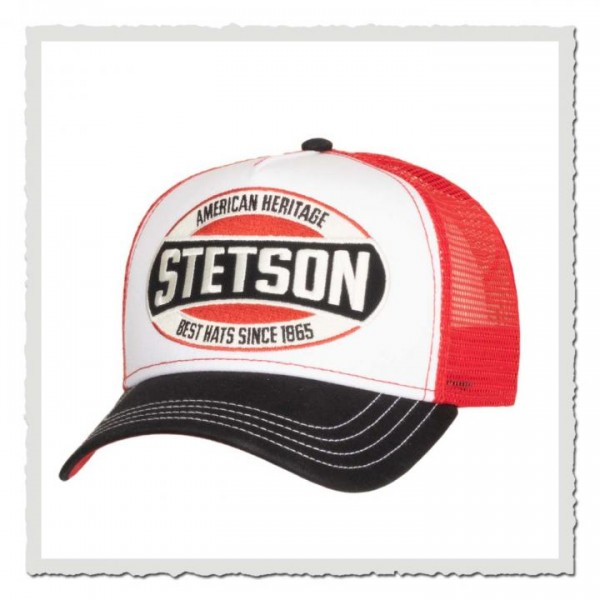 Trucker Cap American Heritage red/black