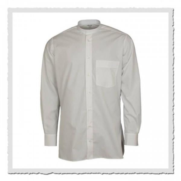 Oberhemd weiss für anknöpfbare Kragen