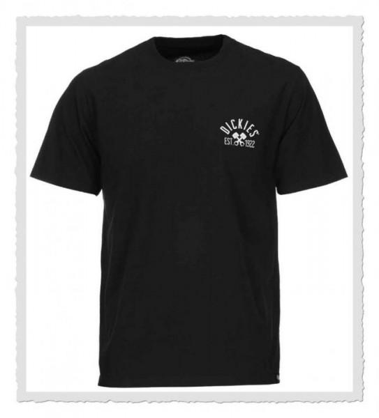 Branning T-Shirt schwarz