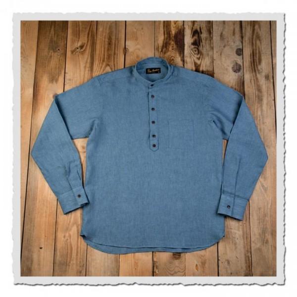 1923 Buccaneer Shirt light blue linien