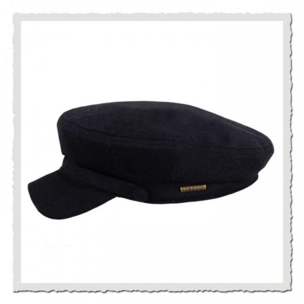 Riders Cap Wool Black