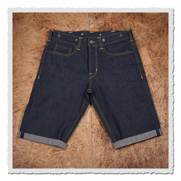 1937 Roamer Pant Short 11oz metal