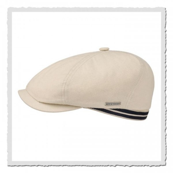 6-Panel-Cap Canvas beige