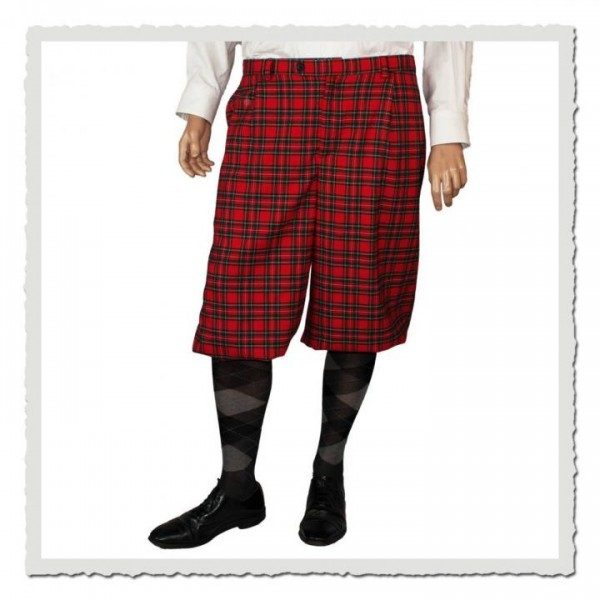 Knickerbocker Friedrich im Stoff scottish red