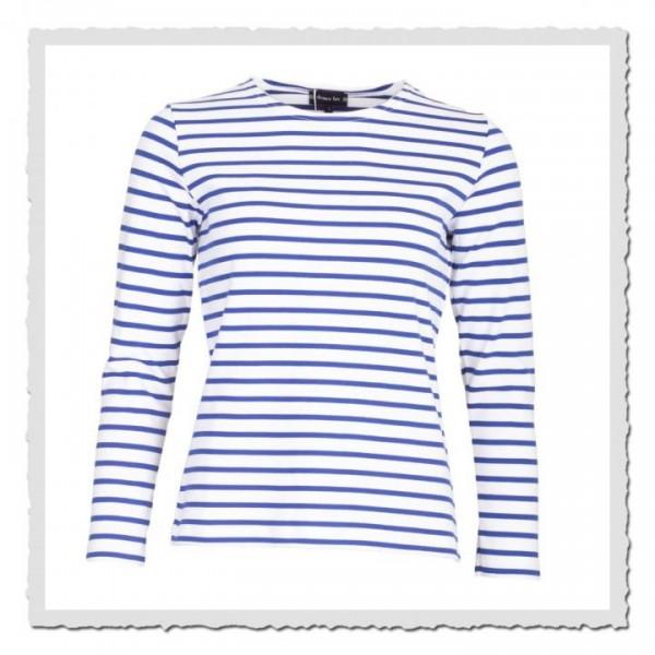 Matrosinnen-Shirt Essentials weiss/sternblau