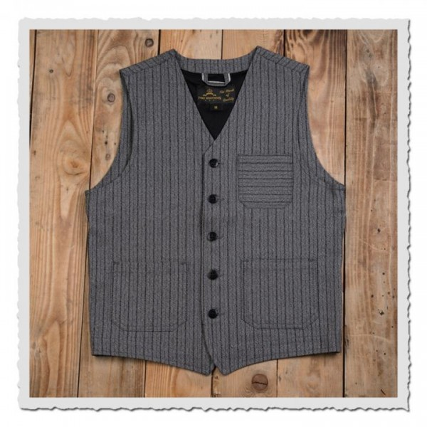 1937 Roamer Vest swedish stripes
