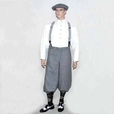 Knickerbocker-Hose Otto im Stoff 1926