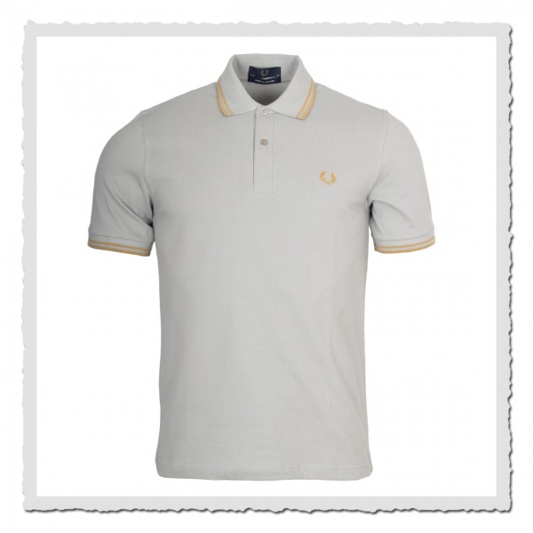 Polo Shirt Twin Tipped 1964 limestone/gold