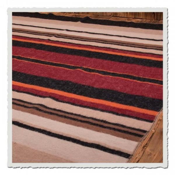 1969 Sunset Blanket Red