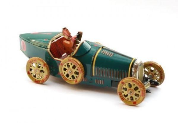Blech-Sportwagen