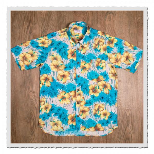 1937 Roamer Shirt Short sleeve Pulemoku blue