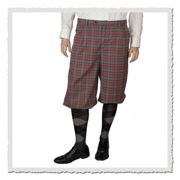 Knickerbocker Friedrich im Stoff scottish grey