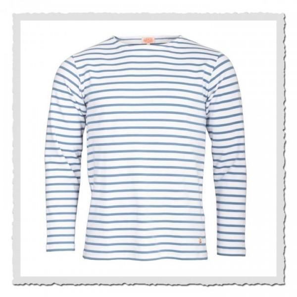 Matrosen-Shirt Kollektion Heritage Weiss/Neptunblau