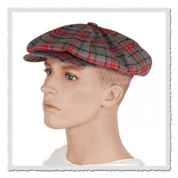 Ballon-Mütze scottish grey