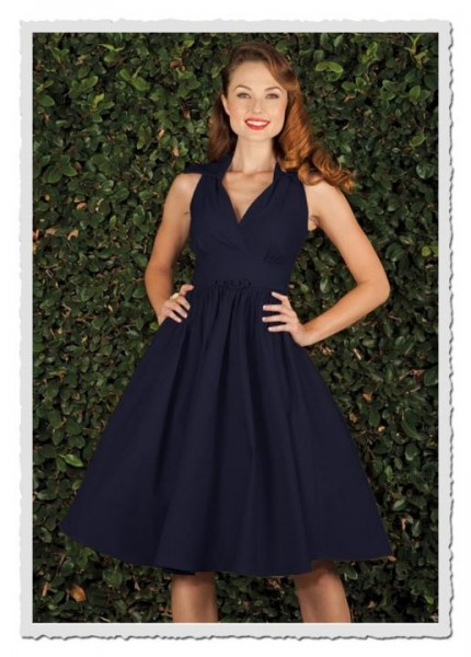 Damenkleid Nylad navy