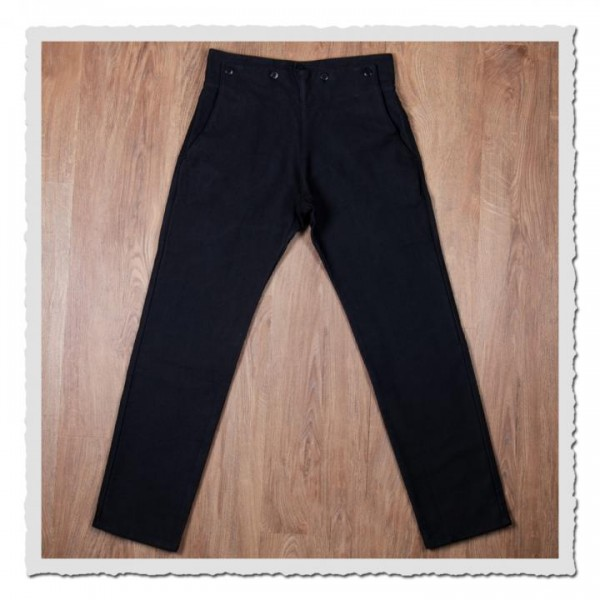 1935 Machinist Trousers Elefant Skin black