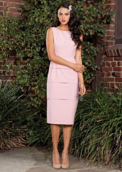 Damenkleid Pupcake pink