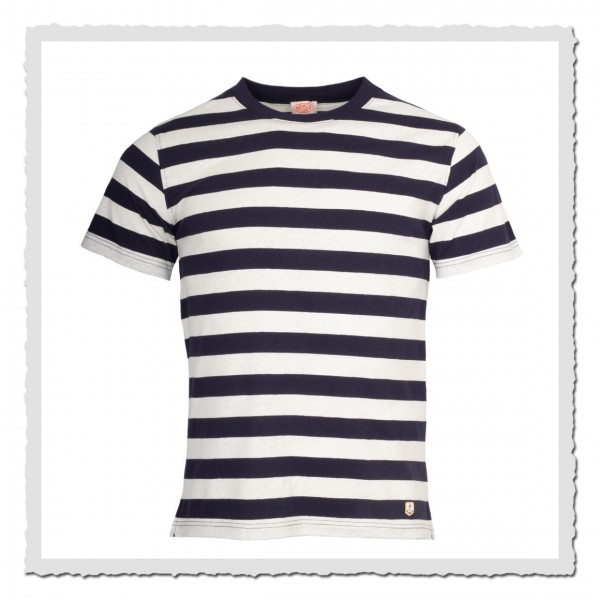 1/2-Arm-Shirt Kollektion Heritage navy offwhite