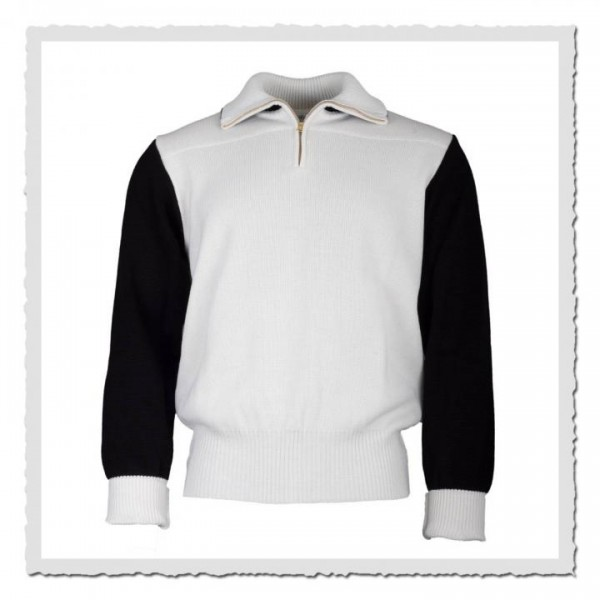Sport Sweater offwhite/black