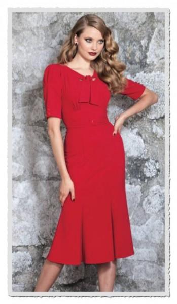 Damenkleid Rouge rot