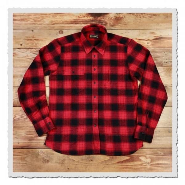 1937 Roamer Shirt red check
