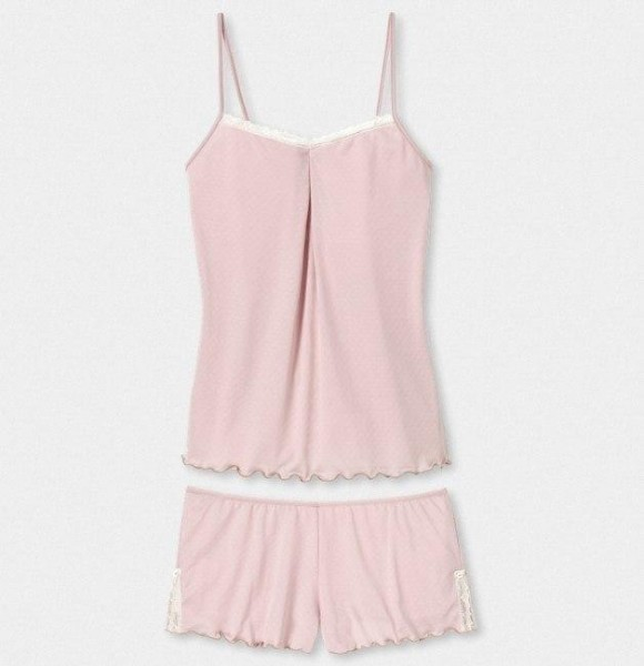 Esther Camisole-Short-Kombination altrosa