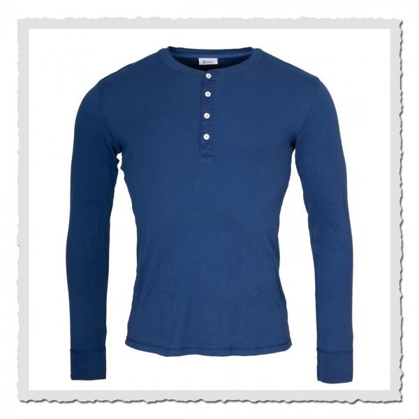schiesser revival shirt karl heinz royal blue