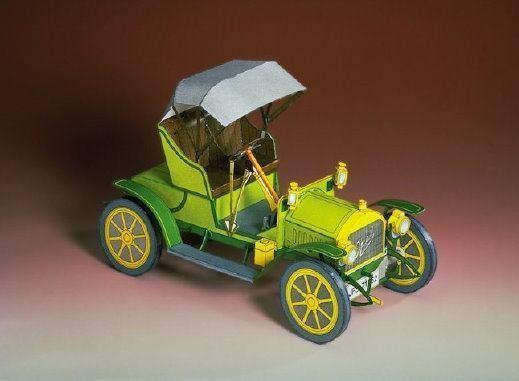 OPEL Doktorwagen Kartonmodell